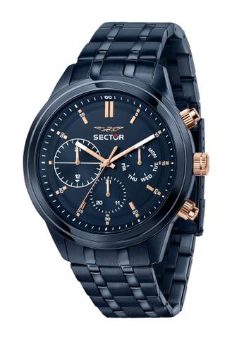 Sector blue Sector 670 Blue Metal Band Men's Watches R3253540005 054CFAC90D5763GS_1