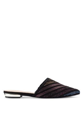 ALDO 黑色 麂皮平底鞋 276D5SH70652D2GS_1