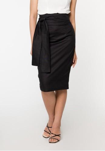 ONYCHA black Montana Skirt in Black 16847AAEE47CEAGS_1