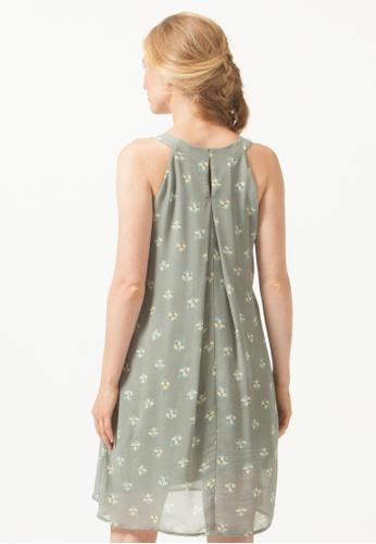 5be268fd9e2fd Buy Bove by Spring Maternity Halter Yvonne Nursing Dress Grey Floral Online  on ZALORA Singapore