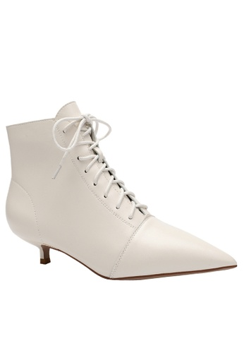 Twenty Eight Shoes Microfiber Leather Lace Up  Ankle Boots 1592-23 31F9CSH349DDE8GS_1