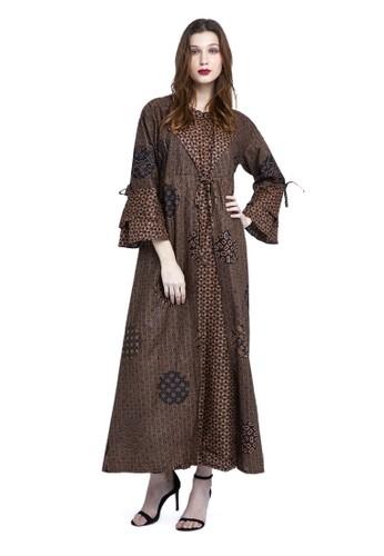 BATIK KENZO brown Rati Rashi Dress Batik Wanita CFCF4AA8E5DCFCGS_1