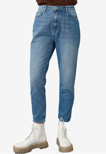 Trendyol blue High Waist Mom Jeans C34CCAAFD6F0E5GS_1