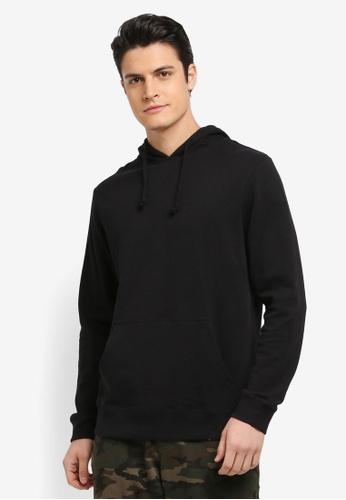 Cotton On black Summer Fleece Pullover C8E95AAABA2109GS_1