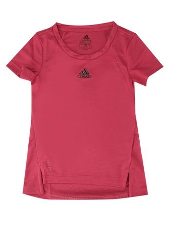 ADIDAS pink girls heat.rdy tee EF345KA39488E1GS_1