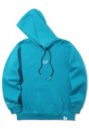 Fivecm navy Logo hoodie 92369AAE235865GS_1