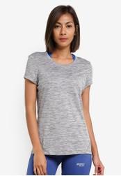 2GO grey Round Neck Short Sleeve T-Shirt 2G729AA0S5XCMY_1