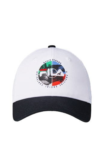 FILA white FILA KIDS FILA x STAPLE Logo Cap C0834KCDA324CAGS_1