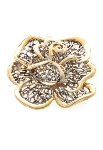 1901 Jewelry gold 1901 Jewelry Flower Brooch 2073 19910AC0WCBOID_1