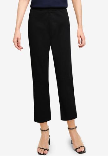 LOWRYS FARM black Knit Pants 4D0CEAAFC156F8GS_1