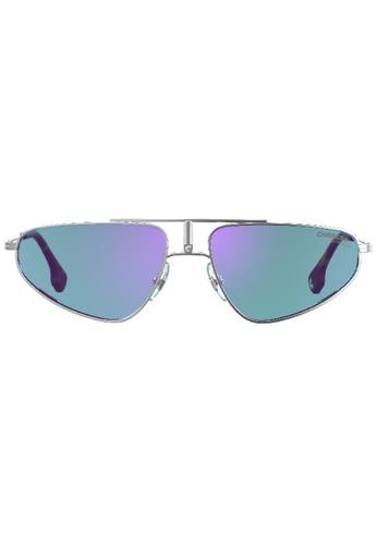 Carrera silver 1021/S Sunglasses 44F0DGL973B5B5GS_1