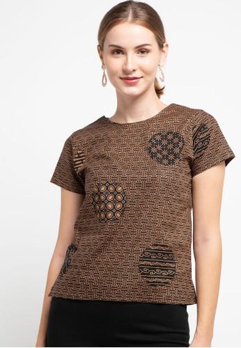Batik First brown Blouse Kupnat Cap 3E7A1AA85A79BAGS_1