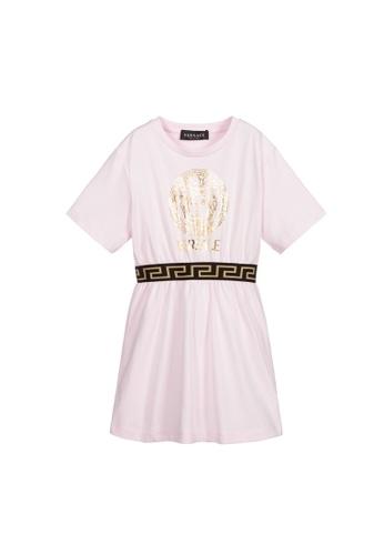 Versace pink VERSACE GIRLS DRESS 4FADEKA7B7B1A5GS_1