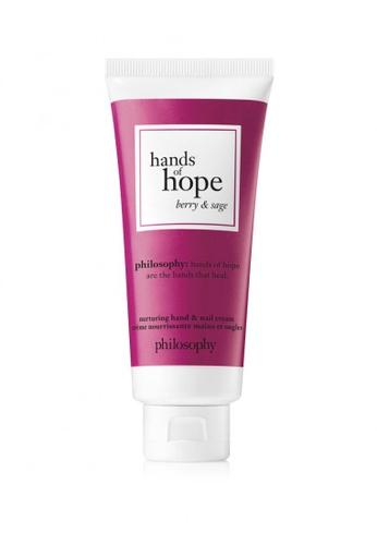 Philosophy Philosophy Hands Of Hope Berry & Sage Hand Cream 30ML 25059BE98B25EAGS_1
