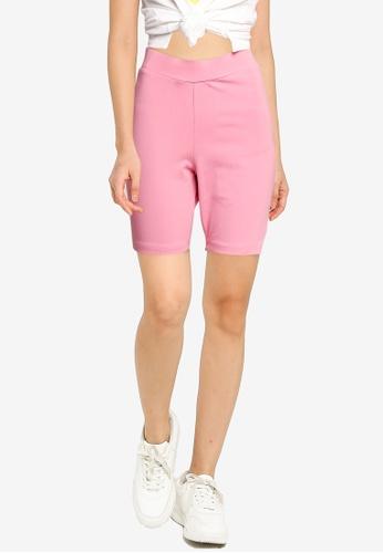 Cotton On pink The Pip Jersey Bike Shorts ADD3BAAA5C9E6FGS_1