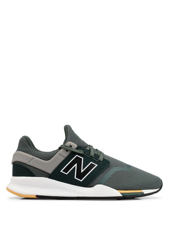 New Balance grey 247 V2 Lifestyle Shoes 4D7C5SHDEFBBDAGS_1