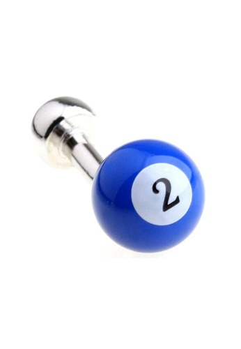 The Little Link Cufflinks blue Billards (assorted colors) - Blue TH089AC0FXRYSG_1
