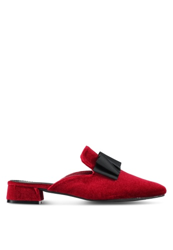 DMK red Slip On Loafers DM860SH0SF56MY_1