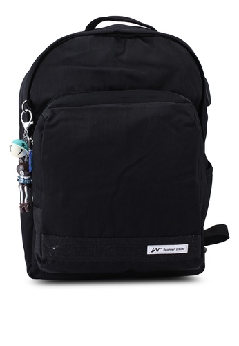 Bagstationz black Laptop Backpack 45015ACECFE1C4GS_1
