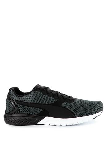 Puma black Ignite Dual New Core Shoes 8BA7BSH3492067GS_1