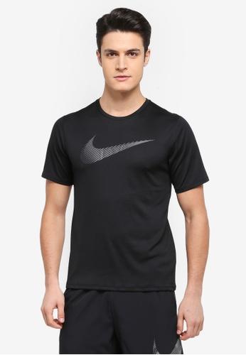 Nike black Nike Breathe Running T-Shirt FF118AA45E1709GS_1