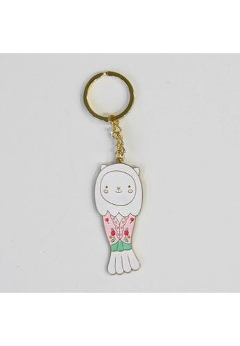 Red Republic Merlion ChouChou Outfit Keychain - Nyonya Kebaya CA8EBHL1BB0B6DGS_1