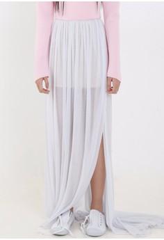 [PRE-ORDER] Pleated Floor Length Skirt