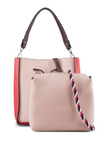 PLAYBOY BUNNY pink Playboy Bunny 2in1 Ladies Bag 9FA3DAC7619AF1GS_1