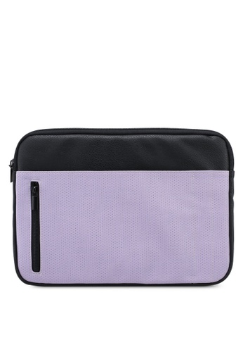 Typo purple Take Charge 13 Inch Laptop Cover 79656AC6E0F5F5GS_1