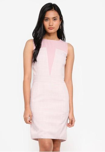 Megane pink Carolina Dress AA16CAA3783942GS_1