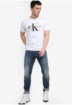 3c9fbd6857b71 Calvin Klein Monogram Embroidery Regular Short Sleeve Tee- Calvin Klein  Jeans RM 289.00. Sizes XS S M L XL · Calvin Klein black Logo ...