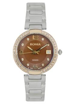 Bonia BR112-2345S - Jam Tangan Wanita - Silver