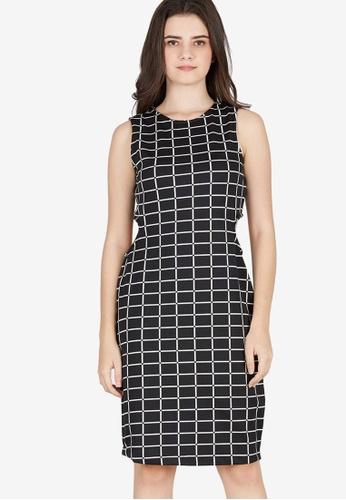 Berrybenka black Darrin Dress 18014AAD950404GS_1