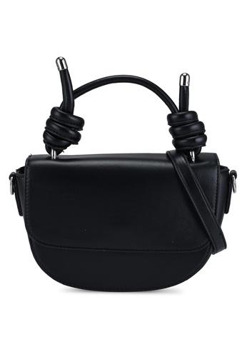 Pieces black Falina Knot Crossbody Bag 1CAE8AC97E1255GS_1
