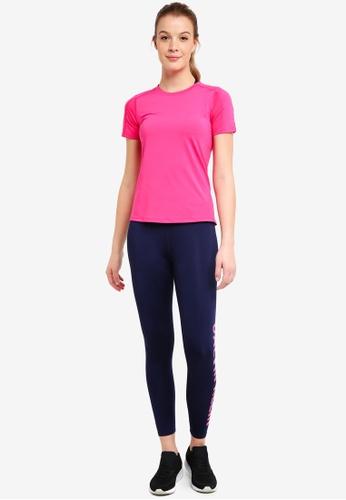 Calvin Klein pink Mesh Back Short Sleeve Tee - Calvin Klein Performance 3E181AAECD67A9GS_1