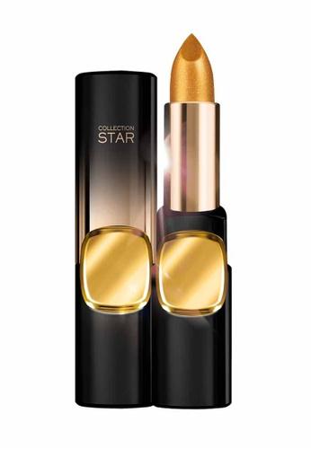 L'Oréal Paris gold L'Oreal Make Up Designer CR Star 24Gold Lipstick G101 ASJP-Le Gold LO618BE24MJJMY_1