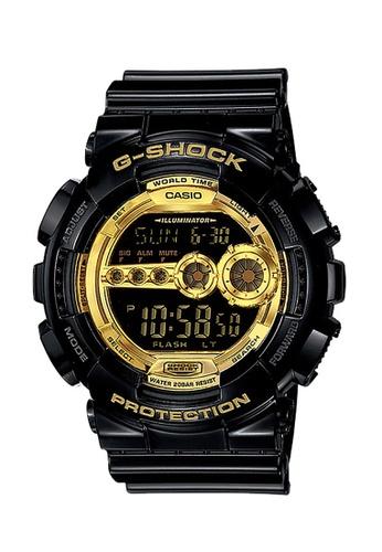 Casio black CASIO G-SHOCK WATCH GD-100GB-1DR 280FCACF92177CGS_1
