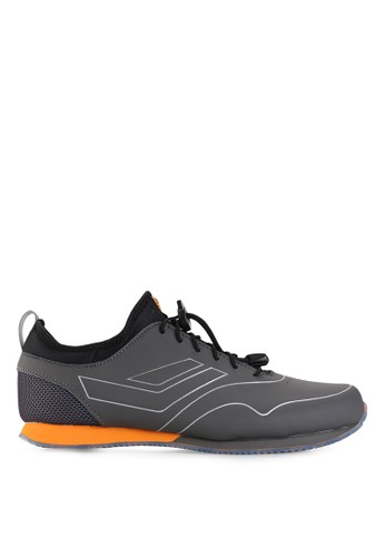 League grey Vault Commuter Day To Night Sneakers LE825SH87PWAID_1