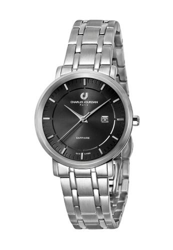 Charles Jourdan silver Charles Jourdan Ladies Watch Elegance Quartz CJ1033-2332 CH774AC0WAOPID_1