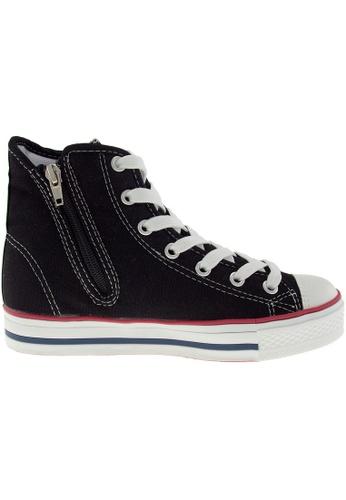 Maxstar black Maxstar Women's C1 7 Holes Canvas High Top Casual Sneakers US Women Size MA164SH98PYFSG_1