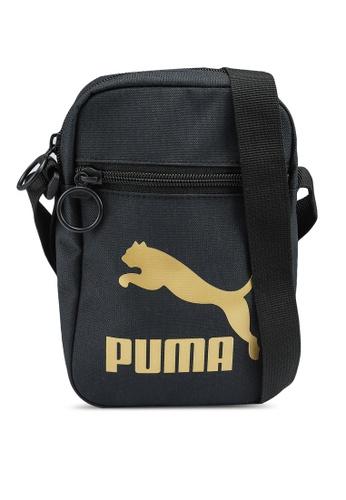 PUMA black Compact Portable Bag E9B5BACB74E5C2GS_1