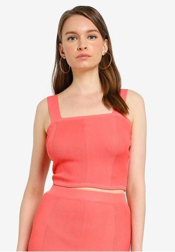 Mink Pink pink Chevron Knit Bustier F3F7FAA873A585GS_1