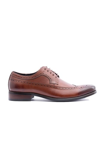 Kings Collection brown Hendrick Oxford Shoes 7E24ESH5F44615GS_1