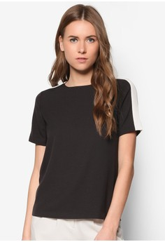Collection Contrast Shoulder Tee
