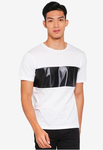 MANGO Man white MANGO Man T-Shirt 2E315AAB285386GS_1