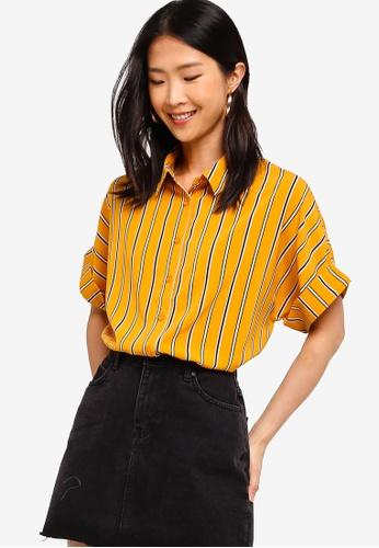 ZALORA BASICS multi Basic Short Sleeves Shirt 0145DAADD9D4B4GS_1
