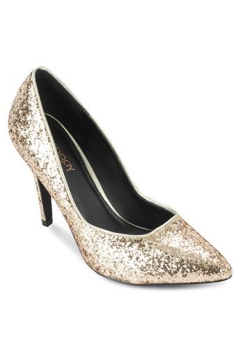 Havanna 閃zalora 男鞋 評價飾尖頭高跟鞋, 女鞋, 鞋