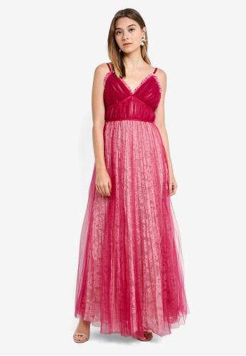 46c30edbcae96 True Decadence pink Cami Strap Maxi Dress B8B9EAA00D5812GS_1. CLICK TO ZOOM