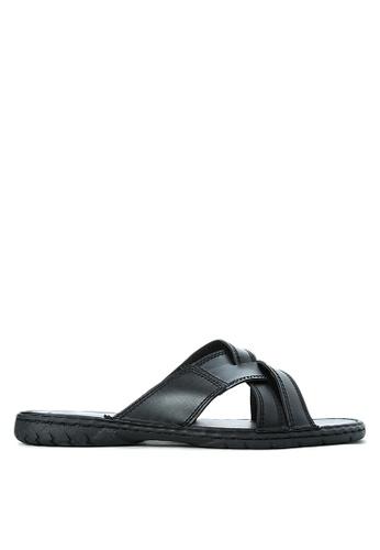 H2Ocean black Achille Sandals H2527SH69WDIPH_1