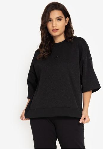 Calvin Klein multi Calvin Klein Jeans A- Short Sleeve-Silver Tape Sweatshirt 06A6CAA4C0C654GS_1